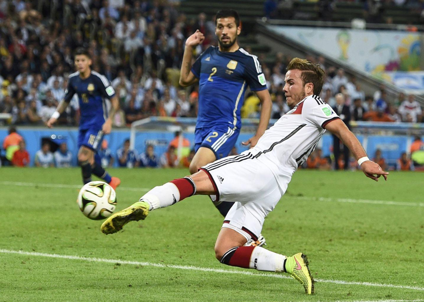 الشهد والدموع عنوان آخر مواجهة بين ألمانيا والأرجنتين (5)