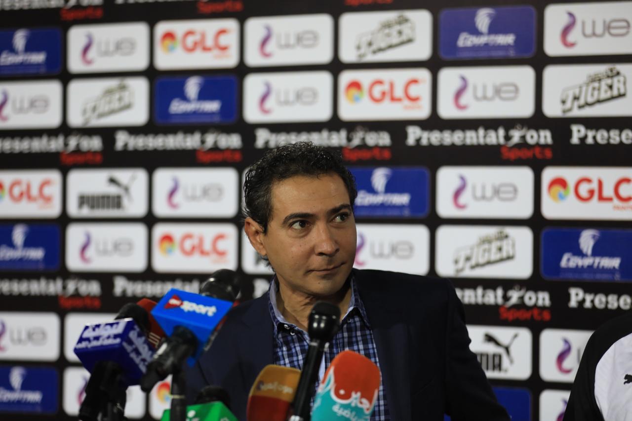 مشاهد من المؤتمر الصحفى لمدير منتخب مصر محمد بركات (10)