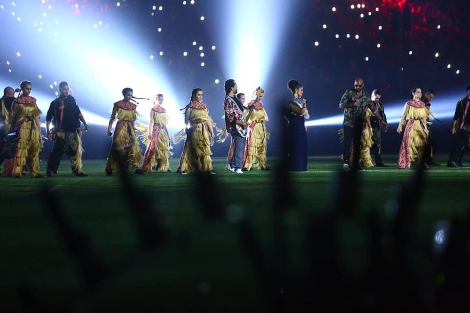 10 مشاهد من احتفالية افتتاح بطولة أفريقيا تحت 23 سنة (1)