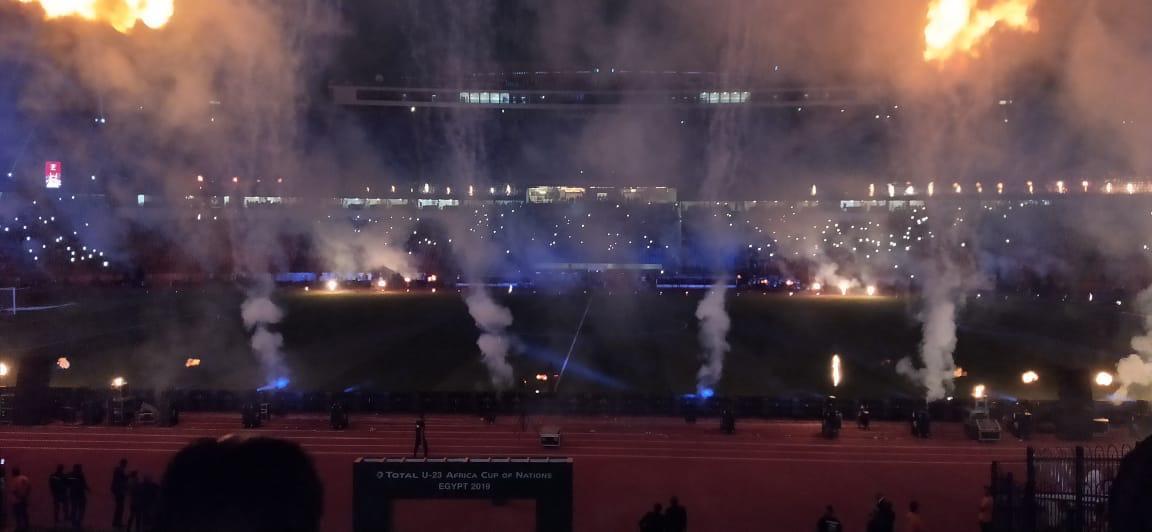 10 مشاهد من احتفالية افتتاح بطولة أفريقيا تحت 23 سنة (6)