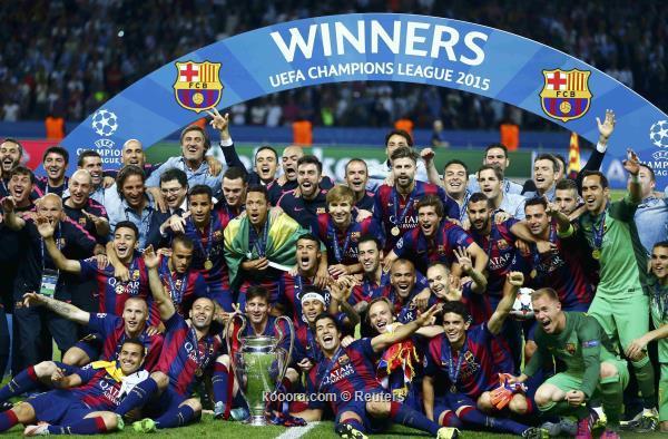 برشلونة2015
