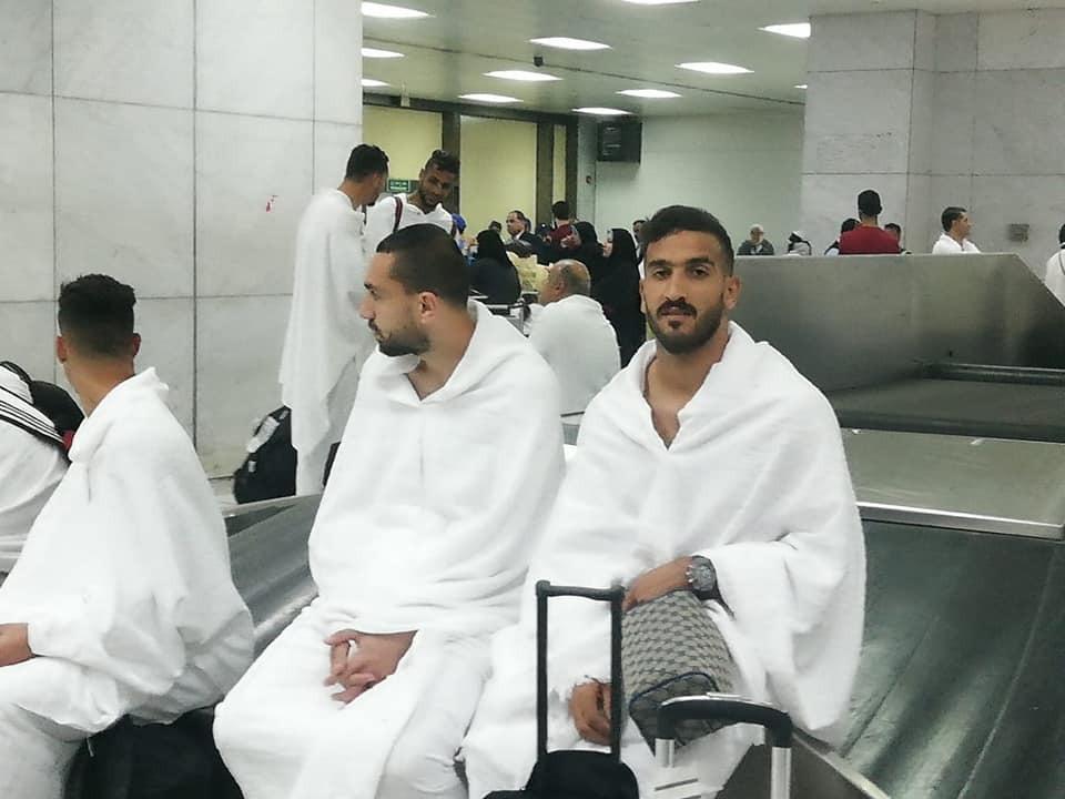 بعثة الاتحاد السكندري تؤدى العمرة (3)