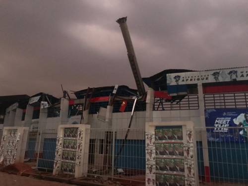 Keshi Stadium Collapse