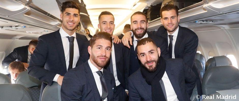 ريال مدريد يطير لمواجهة أياكس بدوري الأبطال (5)
