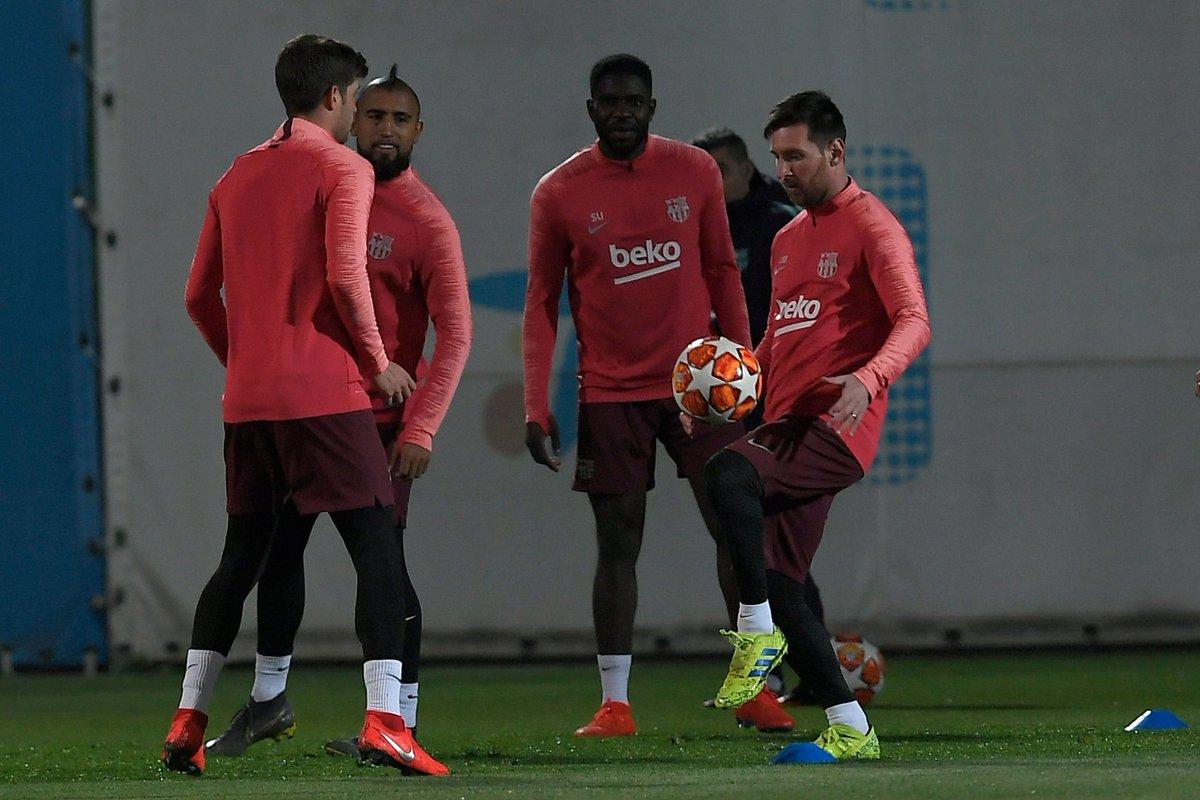 تدريب برشلونة اليوم (1)