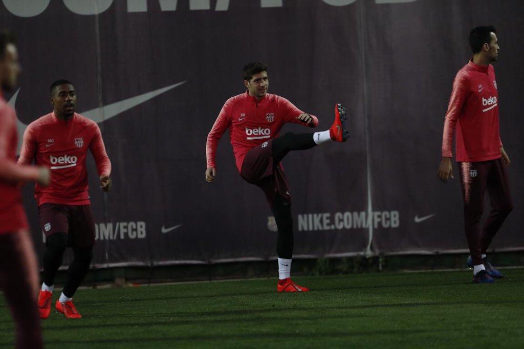 تدريب برشلونة اليوم (6)