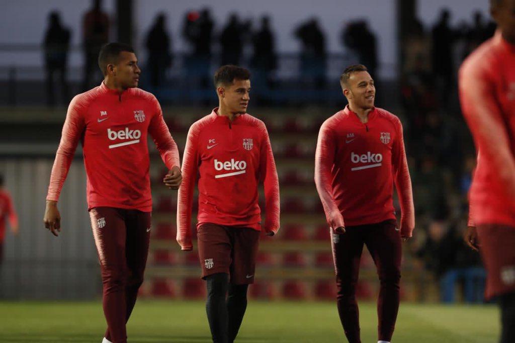 تدريب برشلونة اليوم (5)