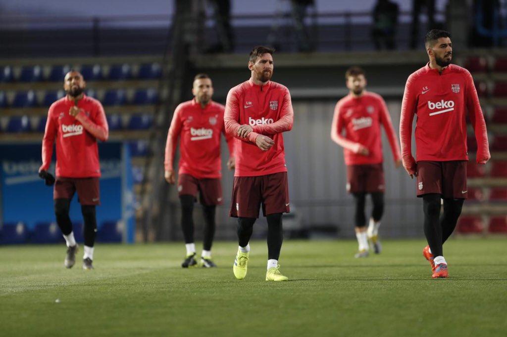 تدريب برشلونة اليوم (7)