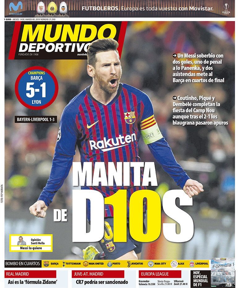 غلاف-صحيفة-موندو-ديبورتيفو