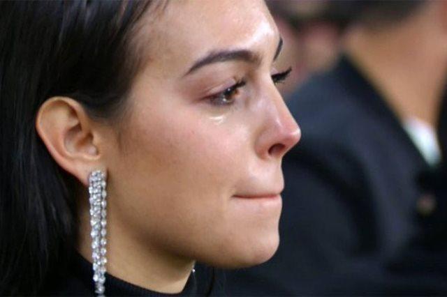 جورجينا تبكى بعد تألق رونالدو أمام أتلتيكو مدريد