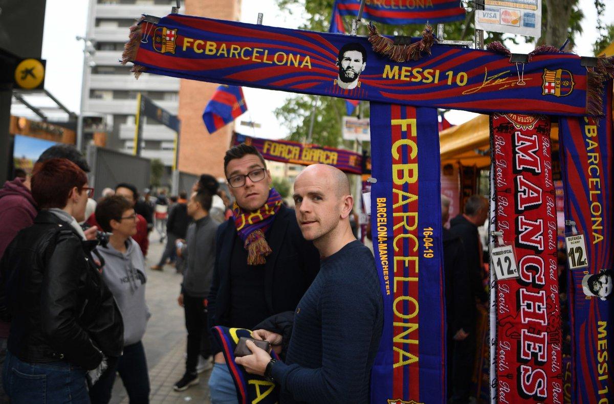 جماهير برشلونة ومانشستر يونايتد (1)