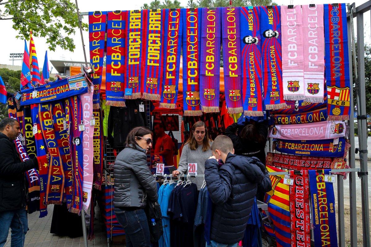 جماهير برشلونة ومانشستر يونايتد (2)