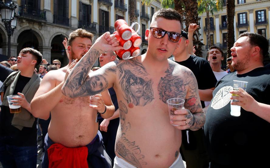 جماهير برشلونة ومانشستر يونايتد (7)