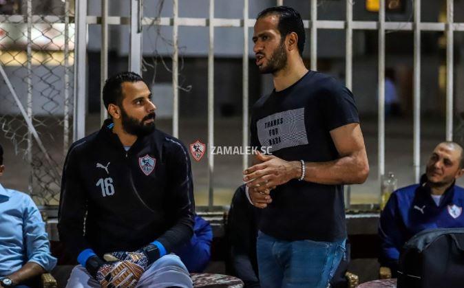 عمر صلاح يتألق بمران الزمالك الختامى قبل مواجهة بركان