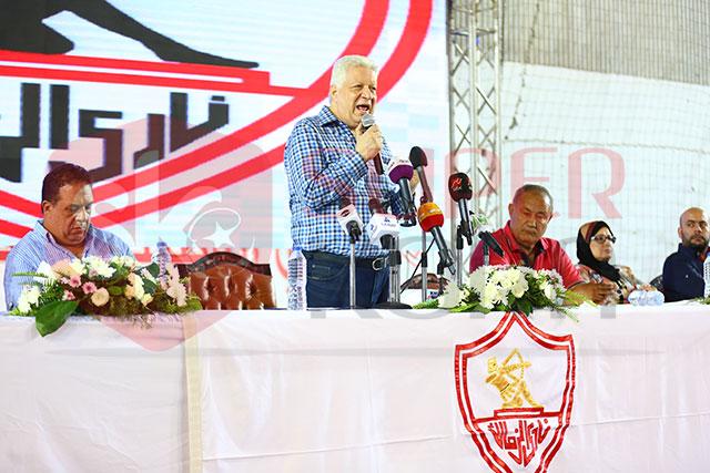 مؤتمر الزمالك  للحديث عن المدرب الجديد (5)