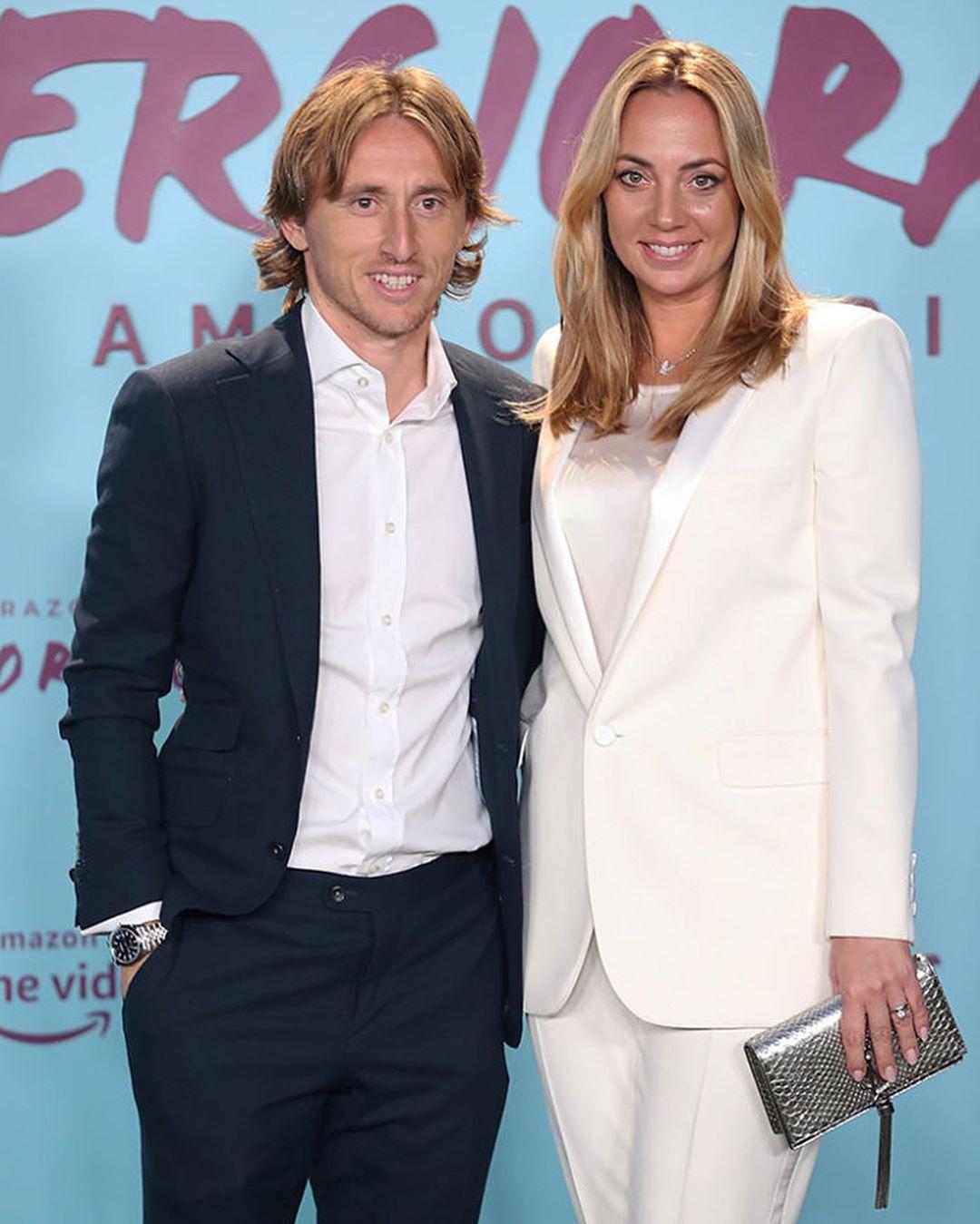مودريتش وزوجته