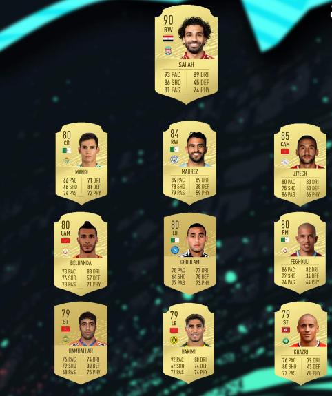 أقوى 10 لاعبين عرب