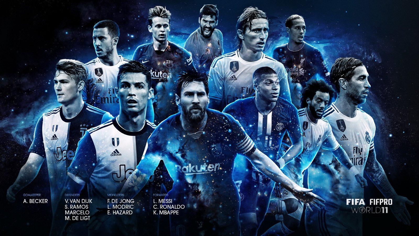 التشكيل الأفضل فى العالم 2019