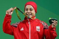 سارة سمير البطلة الأوليمبية المصرية