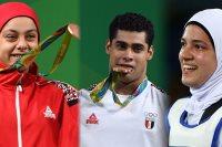 ابطال الاولمبياد