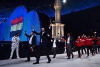 البعثة المصرية في دورة التضامن الاسلامي بأذربيجان