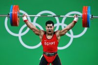 محمد إيهاب لاعب منتخب رفع الأثقال