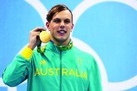 الاسترالي كايل تشالمرز بطل السباحة الأولمبي