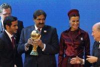قطر لحظة الفوز بتنظيم المونديال
