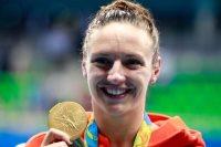 بطلة السباحة الأولمبية المجرية كاتينكا هوسو