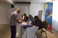 الاجتماع الفني لبطولة أفريقيا لرفع الأثقال