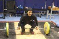 سارة سمير لاعبة منتخب رفع الأثقال