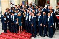 ماكرون والمنتخب الفرنسى
