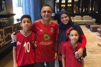 جماهير الاهلي بالكونغو تؤازر المصري
