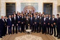 رئيس تونس يستقبل الترجي