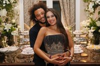 مارسيلو وزوجته كلاريس الفيس