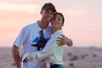 رونالدو وصديقته جورجينا رودريجز