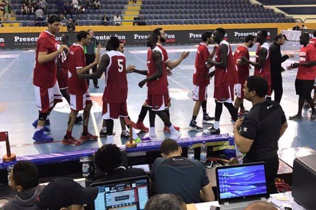 مباراة مصر وجنوب السودان لكرة السلة