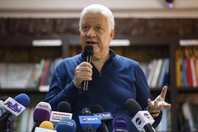 مرتضى منصور يوجه رسالة لحازم امام: قلقان ليه