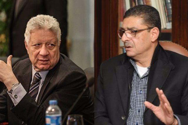 محمود طاهر ومرتضي منصور