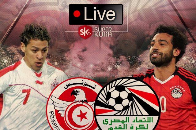 مصر وتونس بث مباشر