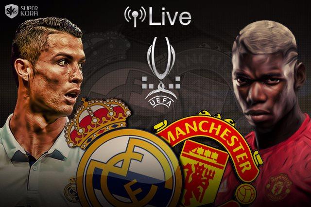 بث مباشر ريال مدريد ومانشستر يونايتد