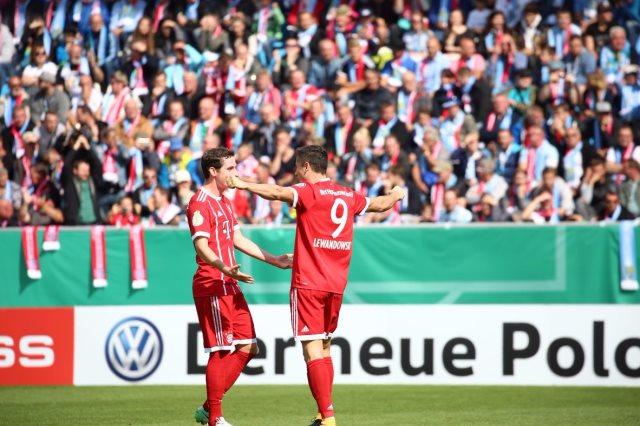 بايرن ميونخ يكتسح كيمنيتسر بخماسية فى كأس المانيا