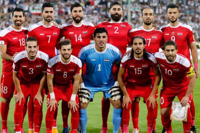 مباراة سوريا اليوم بث مباشر