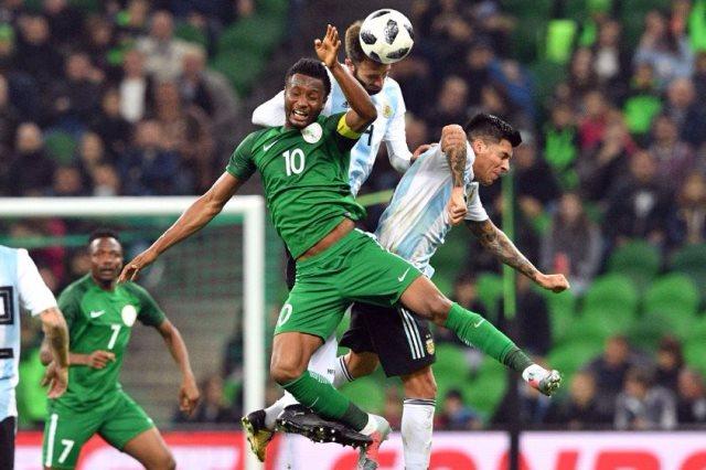 نيجيريا والارجنتين