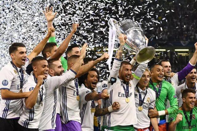 ريال مدريد بطلاً لأوروبا