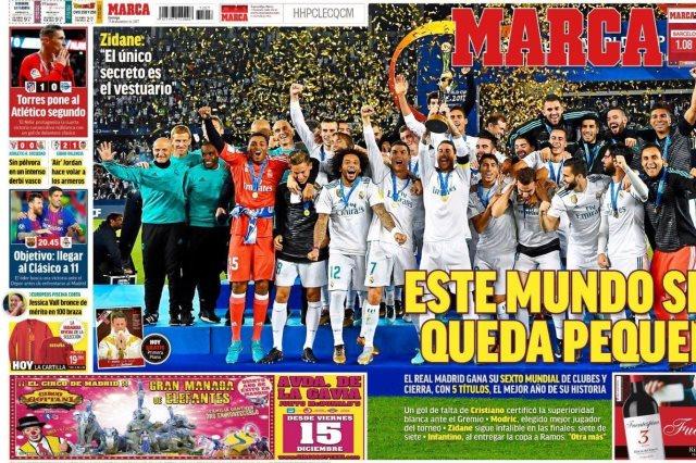 صحيفة ماركا الأسبانية
