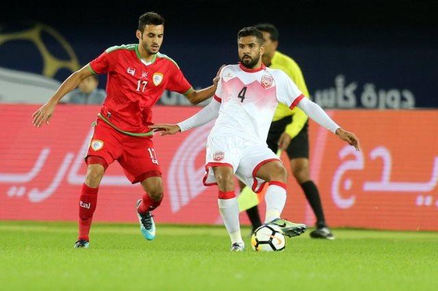 عمان تغلبت على البحرين