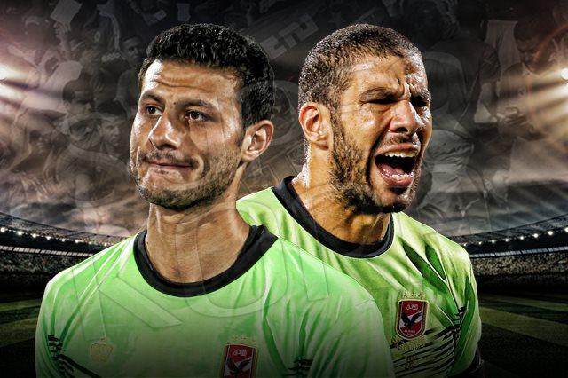 شريف إكرامى ومحمد الشناوى