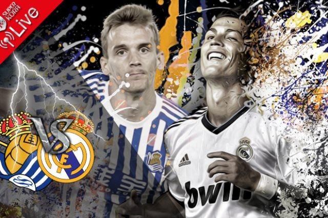بث مباشر.. مشاهدة مباراة ريال مدريد وريال سوسييداد
