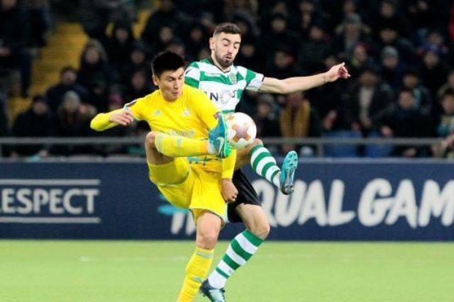 مباراة سبورتنج لشبونة وآستانا الكازاخستنى فى الدوري الأوروبي